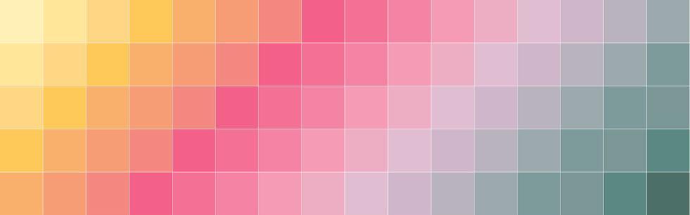 Escolha da paleta de cores ideal
